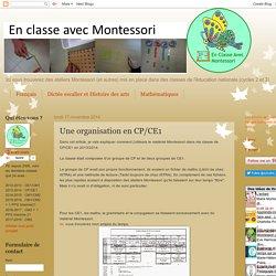 Une organisation en CP/CE1