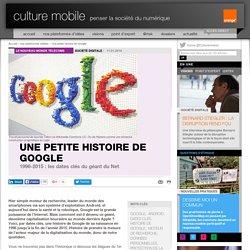Une petite histoire de Google