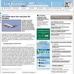 Une petite sur low cost pour Air Caraïbes