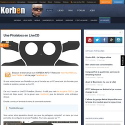 Une Piratebox en LiveCD « Korben
