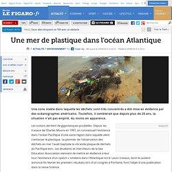 Environnement : Une mer de plastique dans l'océan Atlantique