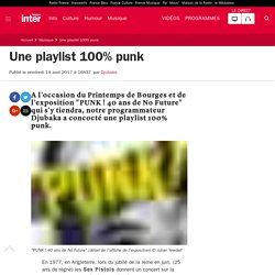 Une playlist 100% punk
