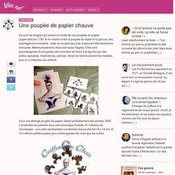 Une poupée de papier chauve - Tetue.net