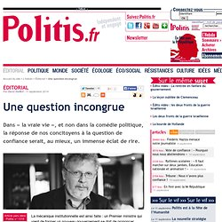 Une question incongrue