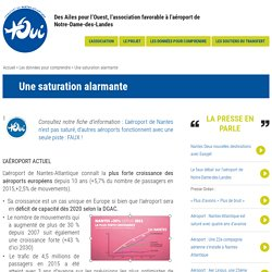 Une saturation alarmante