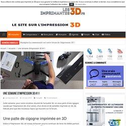 Une semaine d'impression 3D #11