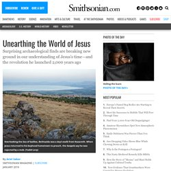 Unearthing the World of Jesus