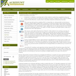 AGRIHUNT 10/02/12 Global GAP certification: seven livestock farms given letters of recommendation
