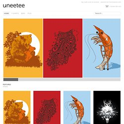 Uneetee cool t-shirts designs - New t-shirt design every monday.