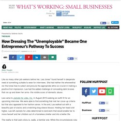 "How Dressing The ""Unemployable"" Became One Entrepreneur's Pathway To Success"