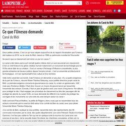 Ce que l'Unesco demande - 07/01/2017 - ladepeche.fr