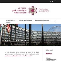 Le PCI à l'UNESCO – Le repas gastronomique des Français