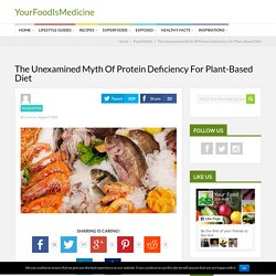 The Unexamined Myth Of Protein Deficiency For Plant-Based Diet