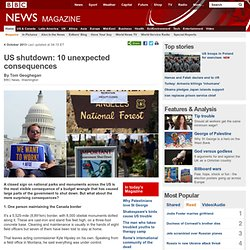 US shutdown: 10 unexpected consequences