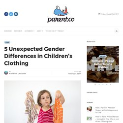 5 Unexpected Gender Differences in Children's Clothing