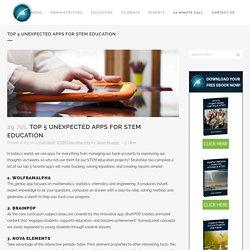 Top 5 Unexpected Apps for STEM Education - StratoStar STEM Education Blog