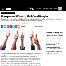 Unexpected Ways to Find Good People