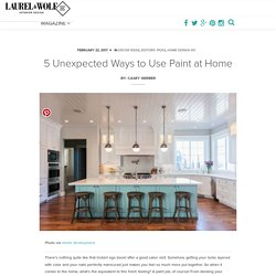 5 Unexpected Ways to Use Paint at Home