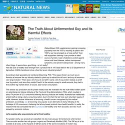 The Truth About Unfermented Soy