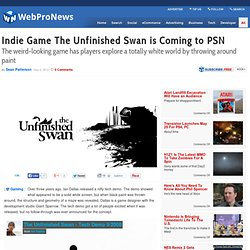Indie Game The Unfinished Swan is Coming to PSN