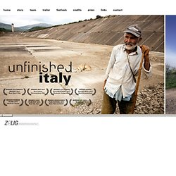 Unfinished Italy Documentary - unfinished-italy.com