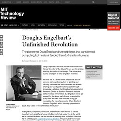 Douglas Engelbart's Unfinished Revolution