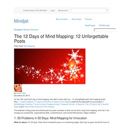 The 12 Days of Mind Mapping: 12 Unforgettable Posts