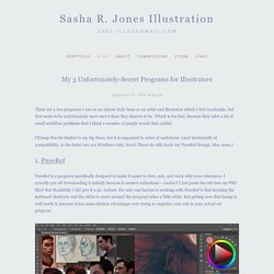 My 3 Unfortunately-Secret Programs for Illustrators — Sasha R. Jones Illustration