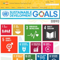 UNFPA & the Sustainable Development Goals