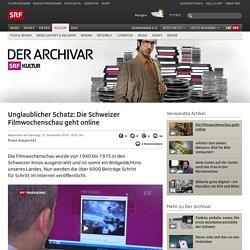Unglaublicher Schatz: Die Schweizer Filmwochenschau geht online - Kultur