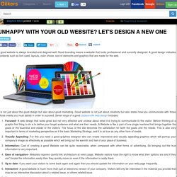 Unhappy with your old Website? Let's design a new one