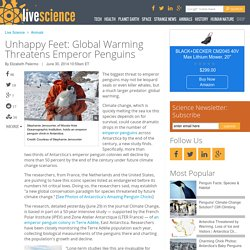 Unhappy Feet: Global Warming Threatens Emperor Penguins