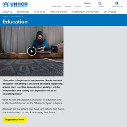 UNHCR - Education