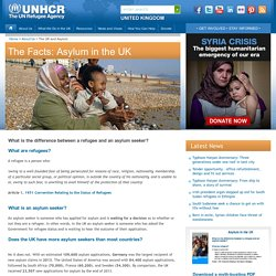 UNHCR:The UK and Asylum