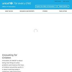 UNICEF - Innovation