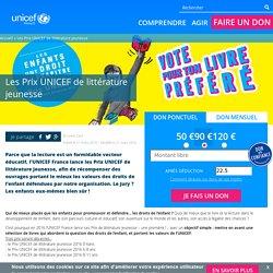 Les Prix UNICEF de littérature jeunesse