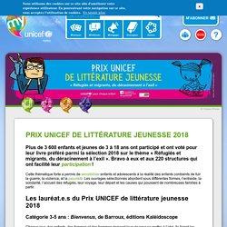Prix UNICEF de littérature jeunesse 2018