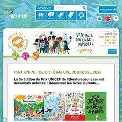 Prix UNICEF de littérature jeunesse 2020