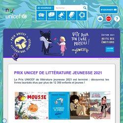 Prix UNICEF de littérature jeunesse 2021