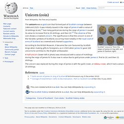Unicorn (coin)
