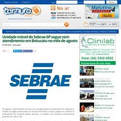 Unidade móvel do Sebrae-SP segue com atendimento em Botucatu no mês de agosto