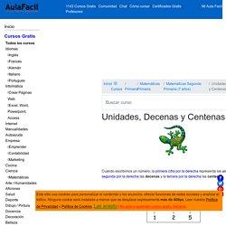 □▷【 Unidades, Decenas y Centenas - Matemáticas Segundo Primaria (7 años) 】