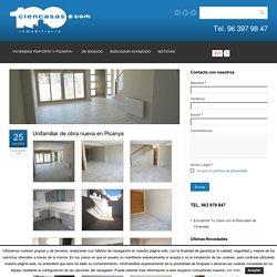 Unifamiliar de obra nueva en Picanya.- Ciencasas.com