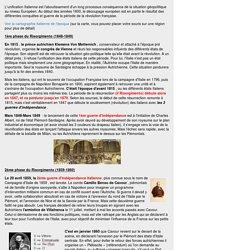API - Unification Italienne - Résumé