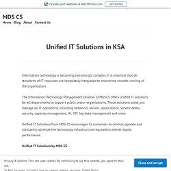 Unified IT Solutions in KSA