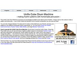 Unifix Drum Machine by David Tulga
