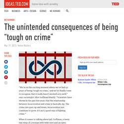 """Look where NZ is on the graph! The unintended consequences of being """"tough on crime"""""""