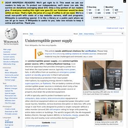 Uninterruptible power supply