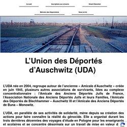 Union des Déportés d'Auschwitz