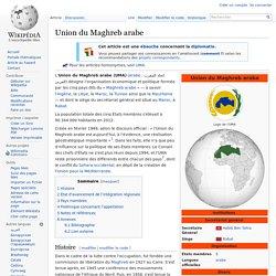 Union du Maghreb arabe